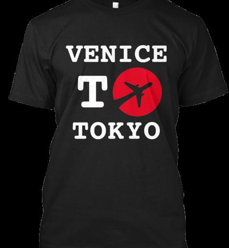 "T-shirt "" Venice toTokyo"""