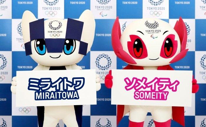 LE MASCOTTE DI TOKYO2020